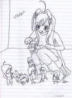 Step on the chibi's by cecexsasuke123