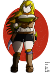 Yang commission by fighterxaos