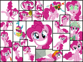Vectored Pinkie Pie Wallpaper by Ryoki-Fureaokibi