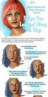 Blue Eyes - Tutorial by XeiArt