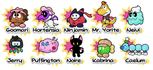 Partners - Paper Mario: The Mirror of Creation by ShyKitty20