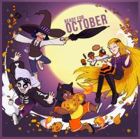 Ready For October by TamarinFrog