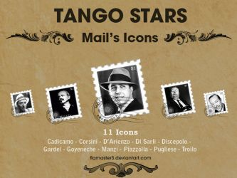 Tango Dock Icons by flamaster3