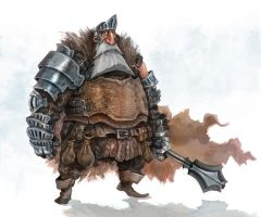 The Old Bearded Knight by Eyardt