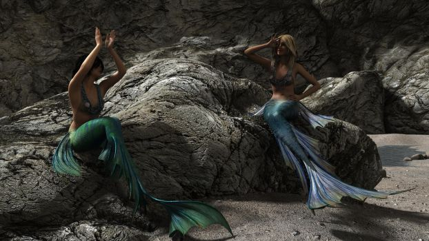 Mermaids155c03 by themeanguy