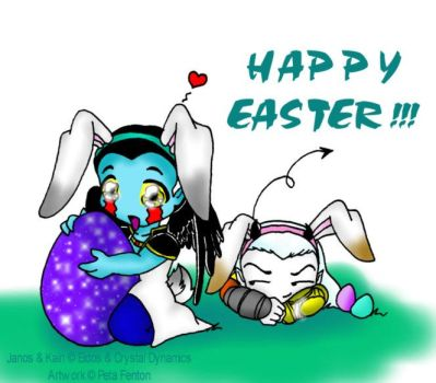 happi easter - from janos by roxxy-chan