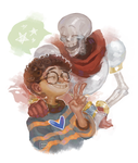 JimPAVLICA and Papyrus by renmargo