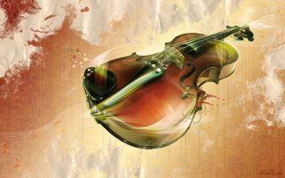 'Unplayed Violin' by cocacolagirlie