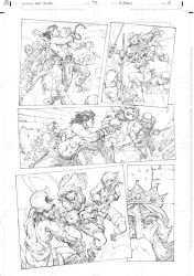 Conan vs Red Sonja page 4 by RandyGreen