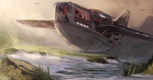 Transport Ships FF1 by epson361