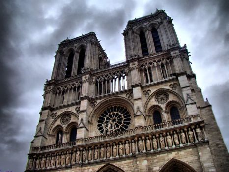 The Towers of Notre Dame de Paris by semeniuc