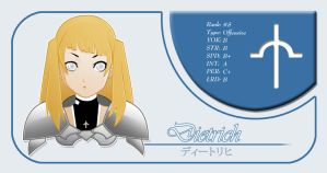 Dietrich Claymore Card by niwre-san