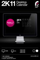 2K11 Desktop Calendar by sub88