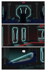 Metroid Comic Page 1 by Dyir