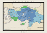 The Hittite empire 1250 BC by Niceillustrator