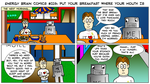 EBC #219: Put Your Breakfast Where Your Mouth Is by EnergyBrainComics