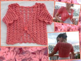 Salmon Spring Bolero by argentinian-queen