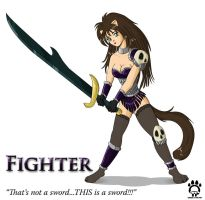 Fighter Kitty by Cat-girl-aholic