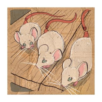Three Blind Mice by puppeteer-for-kings