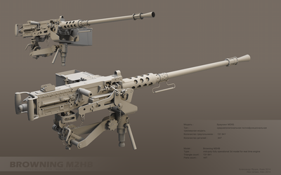 Browning M2 greypage by ABiator