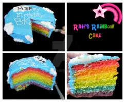 +Rainbow Cake+ by bechahns
