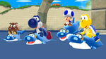 Dolphin Racing by Mario-and-Sonic-Guy