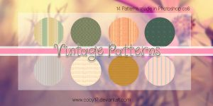 Vintages Patterns by Coby17
