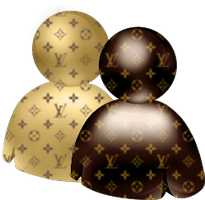 Louis Vuitton WLM icon for Mac by Somonette