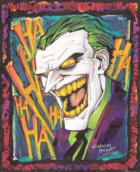 marker: Man who Laughs by KidNotorious