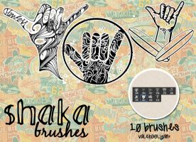 Shaka Brushes+10 by ValeHooligan