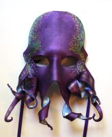 Purple Octopus Mask by OakMyth