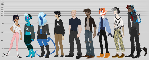 [OCS] - Height Chart by Sylthian