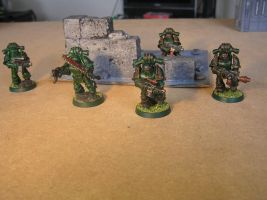 Forgeworld mk3 armour squad (WIP) part 2 by Nik0410