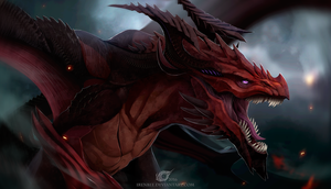 Dragon Reagan by IrenBee
