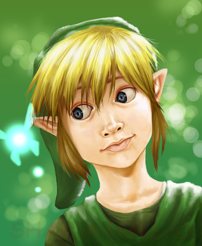 Cherish youth: young Link by AstroZerk