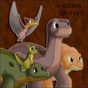 The Gang of Five by Hakunaro