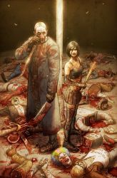 Hack Slash 8 Cover B by bearmantooth