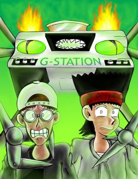 G-Station Cover by JFMstudios