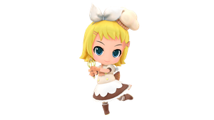 MMD - Project Mirai - Magic Chef Rin + DL by luiz7429