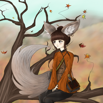 Autumn Lyn by locomore
