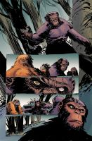 Planet of the apes #4 pg19 colors by JasonWordie