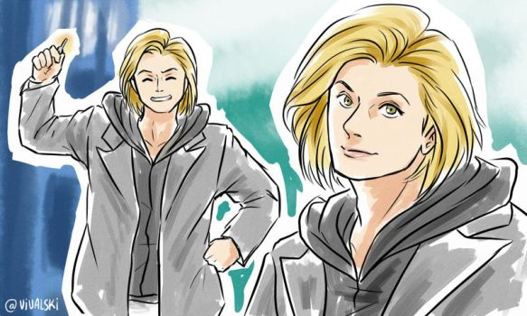 13th Doctor by Vivalski