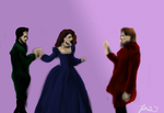 Founders at the Yule Ball by pristineungift