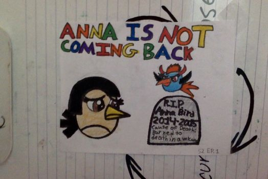Rage Birds Toons S2 Ep. 1 Anna Is Not Coming back by Mario1998