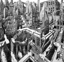 perspective drawing by Itrebur