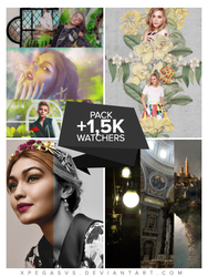 Pack +1,5K Watchers by xPEGASVS