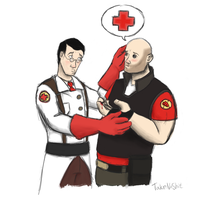 MEDIC! I got a splinter by TakeNoShit