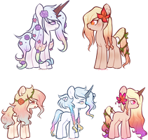 [Floral Breed] [CLOSED] by Mochi-Munchi