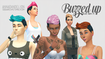 [MMD] Buzzed Up Hair (+Download) by AppleWaterSugar