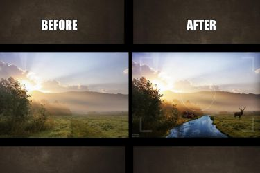 Before - After|  Montage by Siimeo